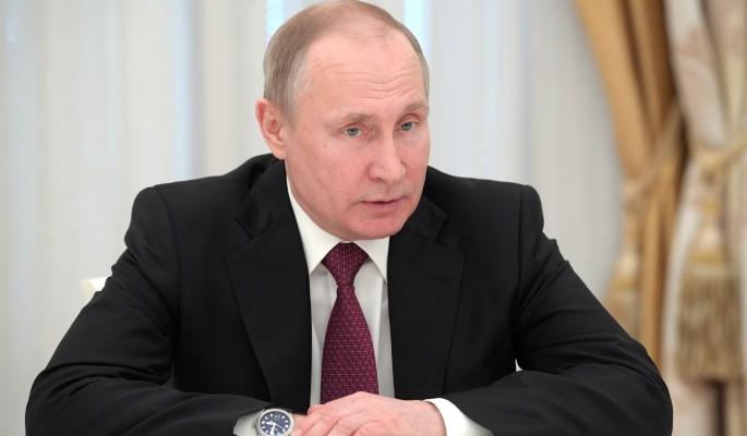 Путин поблагодарил парламентариев за вклад в единое правовое пространство
