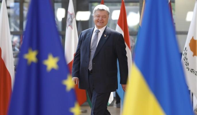 Порошенко получил черную метку от Евросоюза