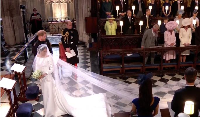 Гости в ужасе от конфуза на свадьбе принца Гарри и Меган Маркл