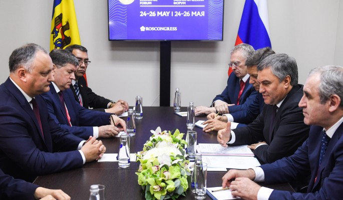 Володин: У России и Молдавии общие исторические корни