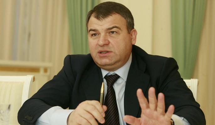 Сердюкова назначили на высокую должность