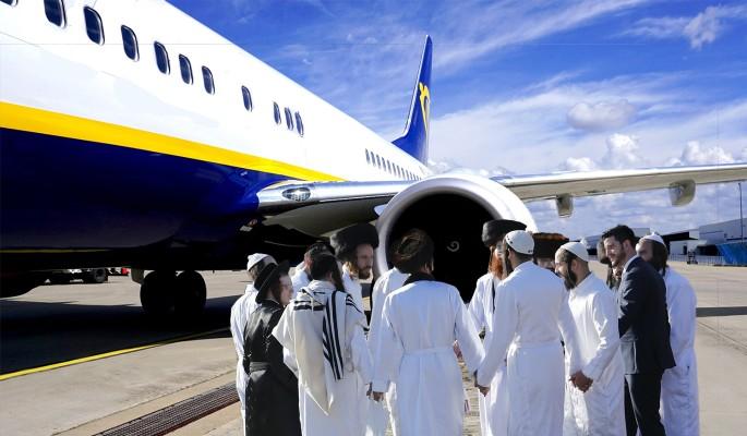 """Спешащие на """"свадьбу"""" евреи решили угнать самолет"""