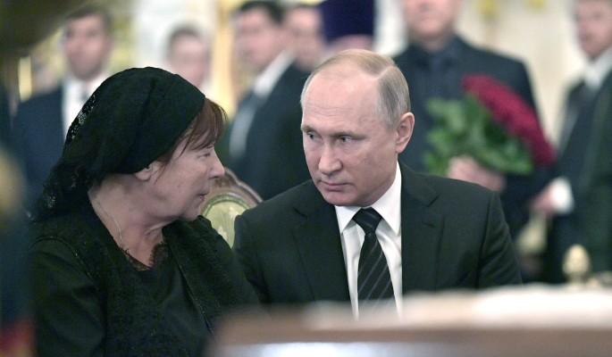 Путин простился с Говорухиным
