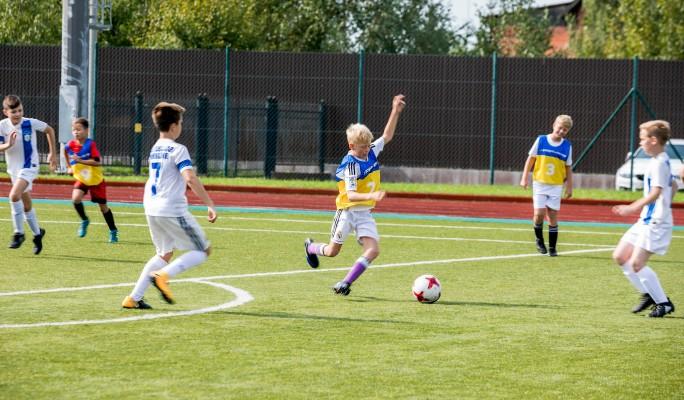 Детский благотворительный футбольный турнир
