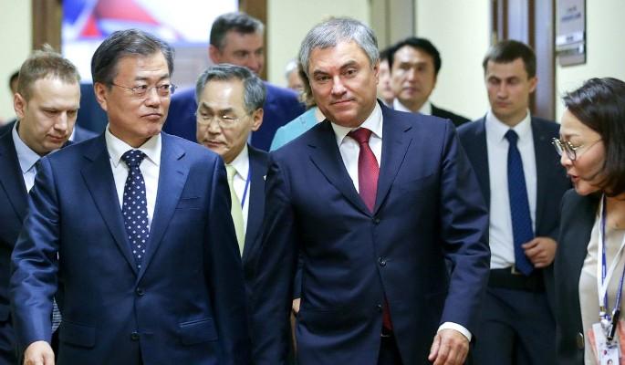 Президент Южной Кореи выступил в Госдуме