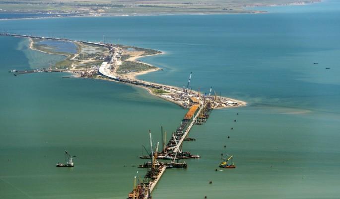 Крымский мост заблокировали до 2020 года