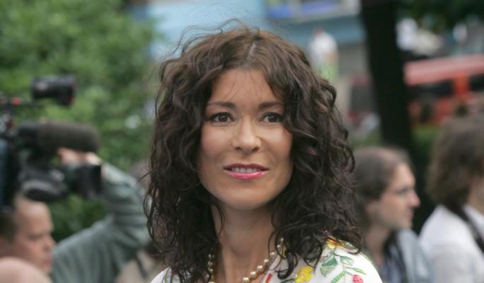 53-летняя Ольга Слуцкер показала шикарную фигуру в купальнике