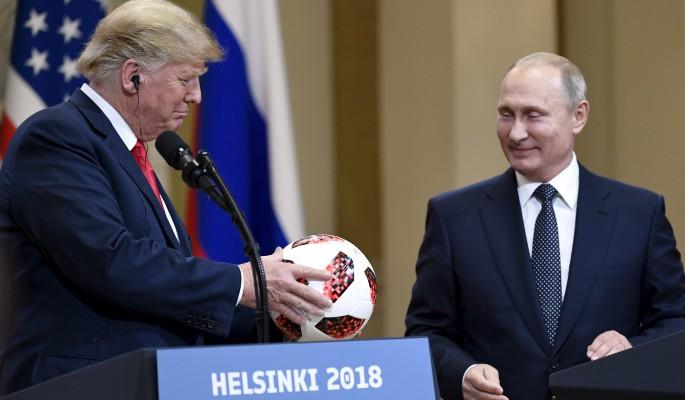 """Мяч с """"сюрпризом"""" от Путина переполошил Белый дом"""