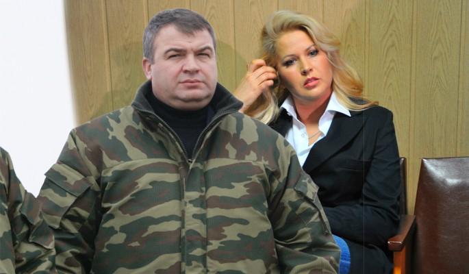 Сердюков впервые высказался о свадьбе с Васильевой
