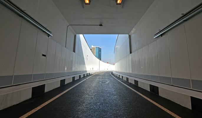 На Калужском шоссе открылся новый разворотный тоннель
