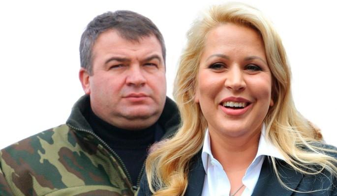 Сердюков влип в историю после свадьбы с Васильевой