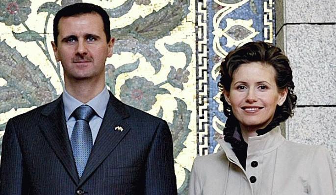 У красавицы-жены Асада нашли рук груди