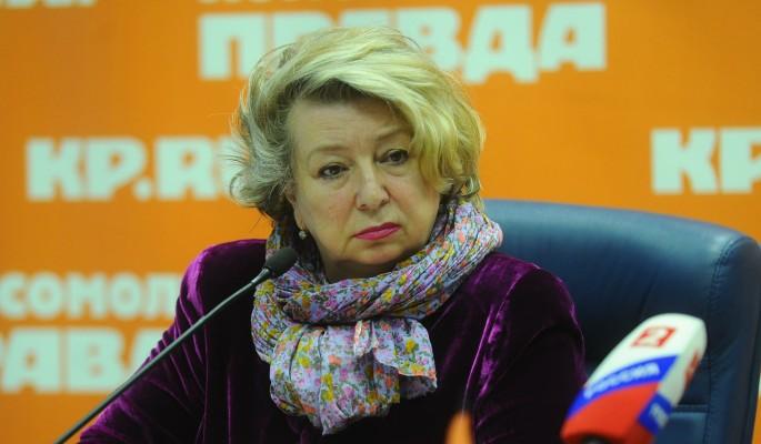 Тарасова резко высказалась о демарше Сотниковой
