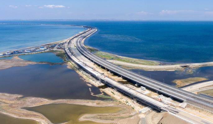 Водолазы приступили к разбору Крымского моста
