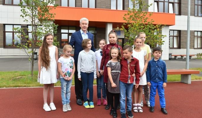 В новые школы и детсады Москвы пошли семь тысяч детей