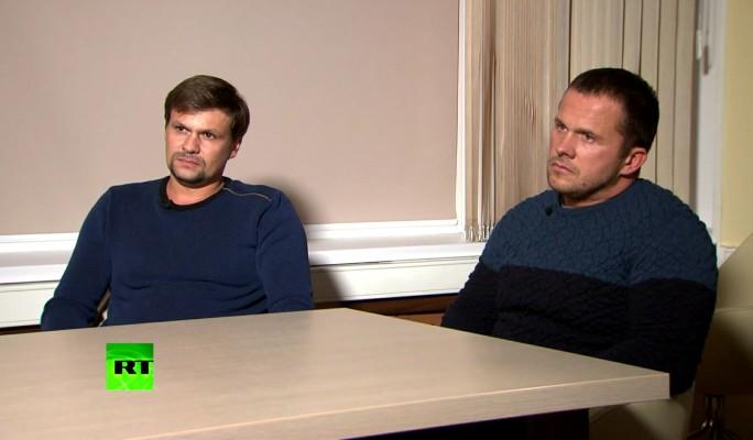 Застенчивые геи: Петрова и Боширова вывели на чистую воду