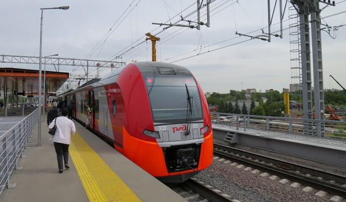 В Москве завершается строительство платформы Ленинградская