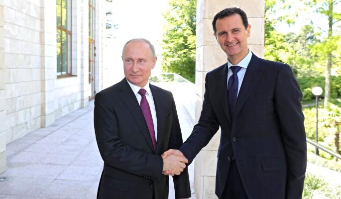 Путин спас Асада от неминуемой смерти