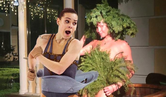 Сотникова с подружкой в бане уделала Волочкову