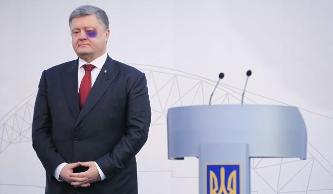 В Киеве заявили об избиении Порошенко