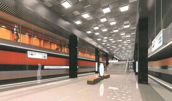 Четыре участка большого метрокольца построят за три года
