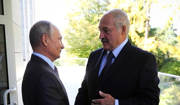 Путин щелкнул по носу строптивого Лукашенко