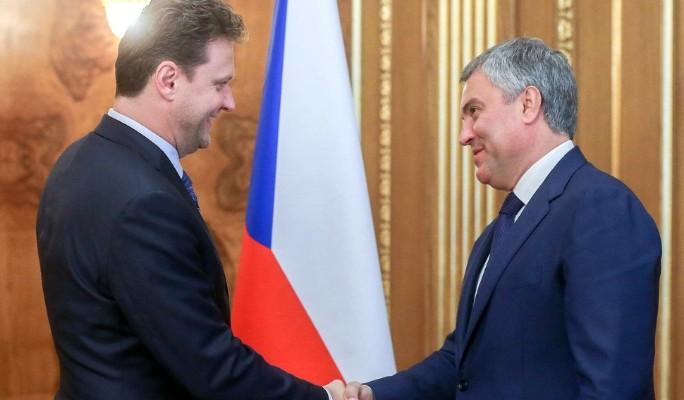 Россия и Чехия расширяют межпарламентское сотрудничество