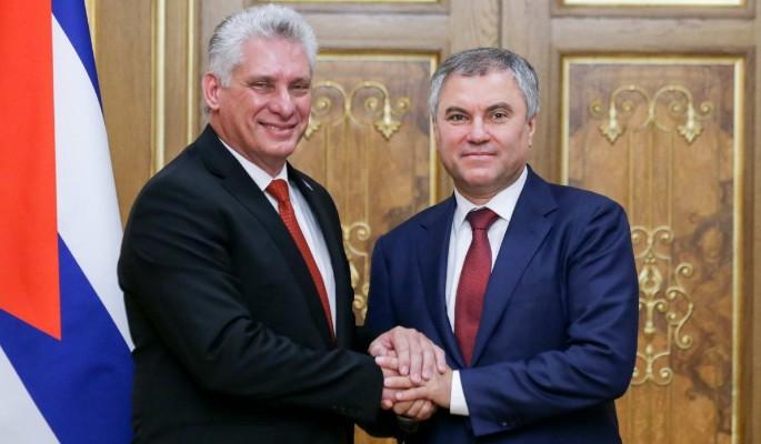 Володин призвал другие страны вместе бороться с санкциями США