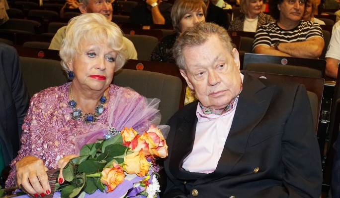 Людмила Поргина и Николай Караченцов. Фото: GLOBAL LOOK press/Ekaterina Tsvetkova