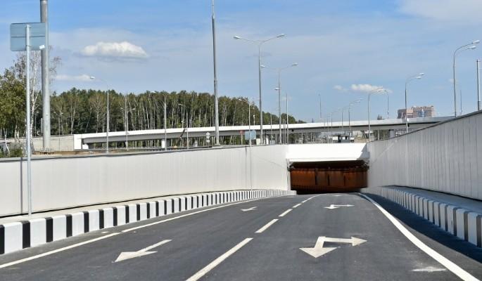 Новый тоннель на Варшавке откроют в течение месяца
