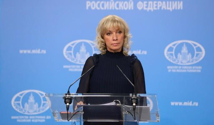 Захарова заподозрила Мэй в связях с Петровым и Бошировым
