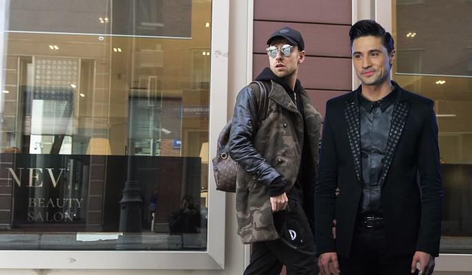 Перепутали с Биланом: певца Dante обокрали посреди улицы