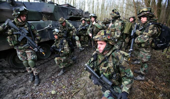 В Донбассе замечены солдаты НАТО