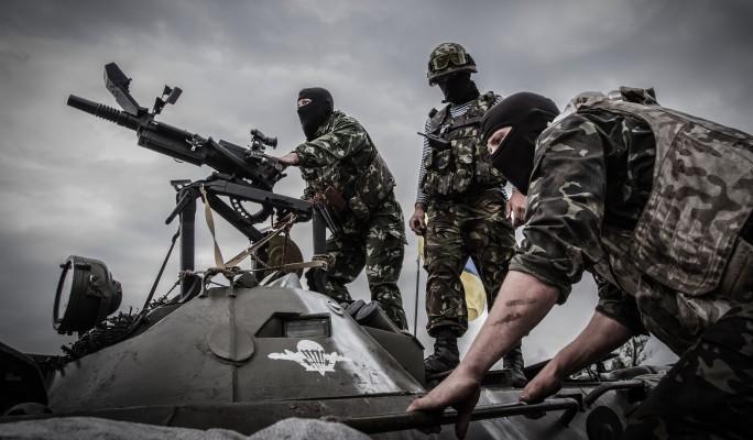 Украинские десантники подняты в воздух у границы России
