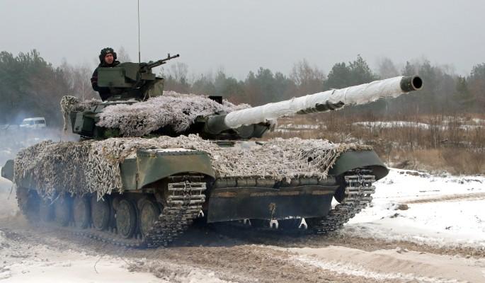 Украинские танки вошли в города Донбасса
