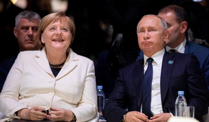 Меркель пошла на предательство ради Путина