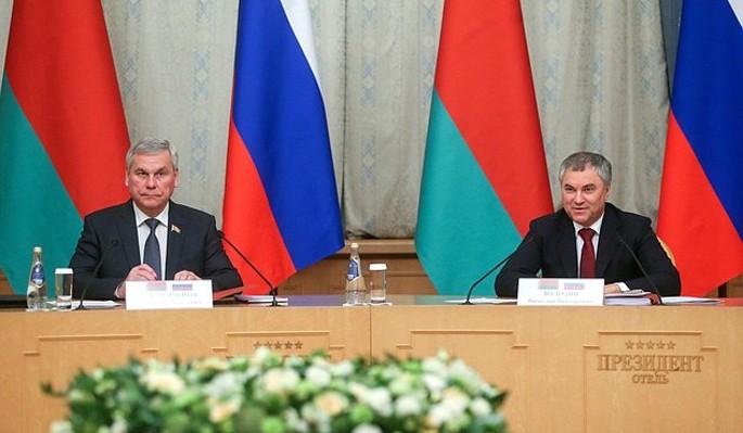 Россия и Белоруссия становятся ближе