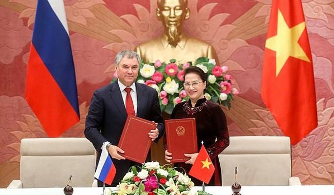 Россия и Вьетнам расширяют межпарламентское сотрудничество