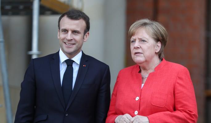 Москва распекла подло напавших на Путина Меркель и Макрона