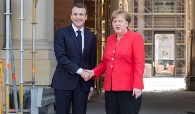 На Украине врезали Макрону и Меркель после угроз Путину