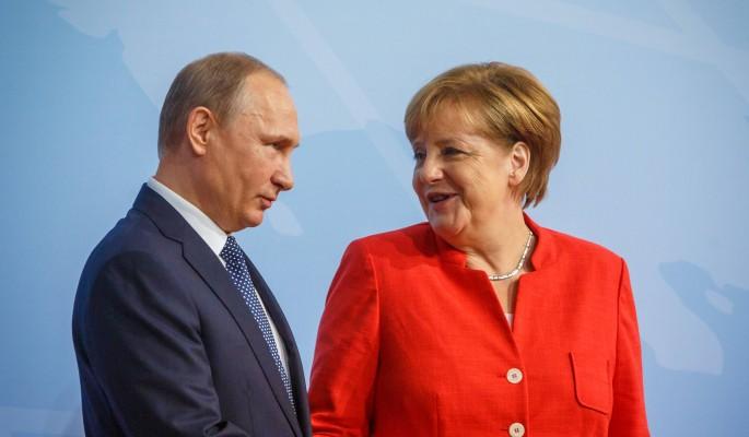 Меркель потянулась к Путину после хлесткой пощечины