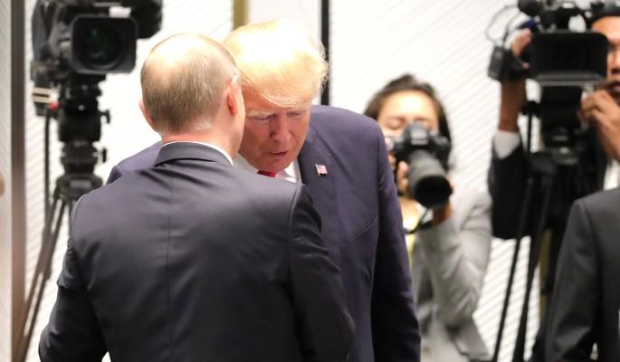 Стало известно о тайных встречах Трампа и Путина