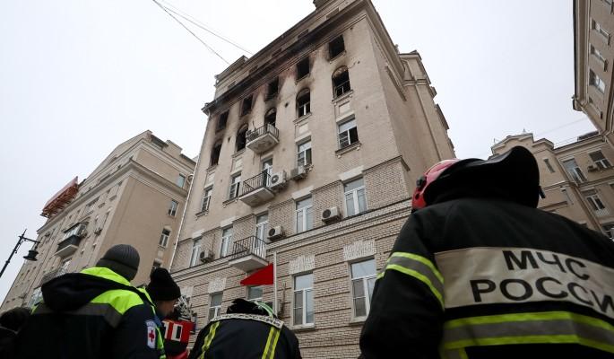 Погибла вся семья: жуткие подробности пожара в доме на Никитском