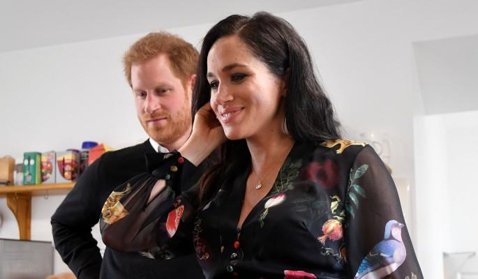 Принц Гарри сбежал от беременной Меган Маркл