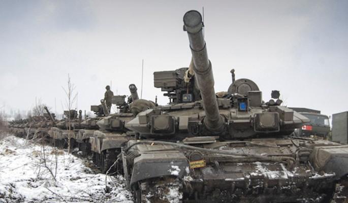 Объявлено о российских танках в Киеве