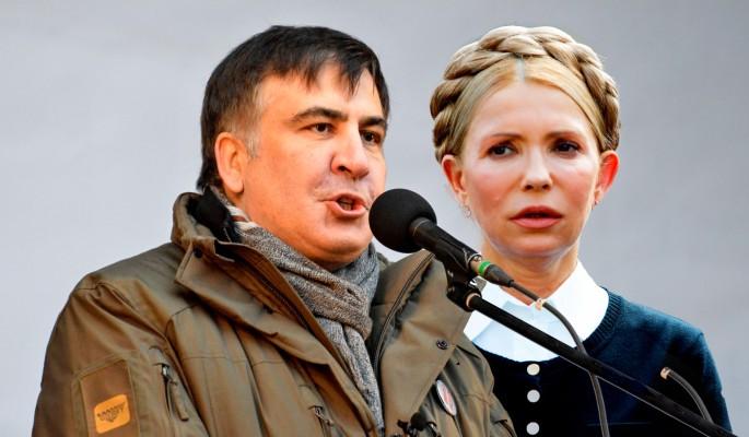 Саакашвили раскрыл страшную тайну Тимошенко