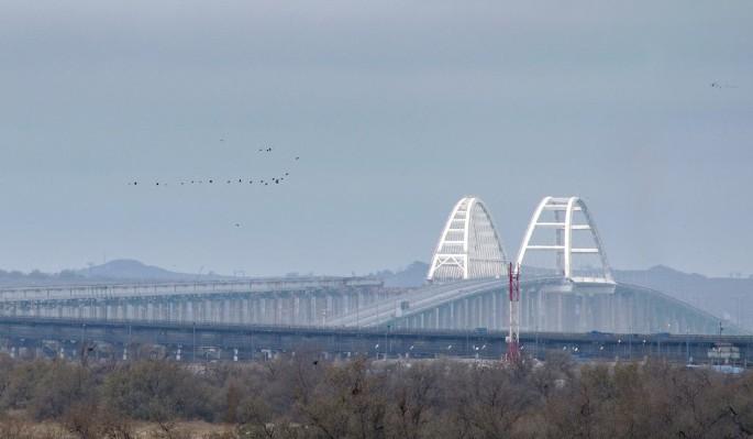 Вооруженные украинцы устроили провокацию у Крымского моста