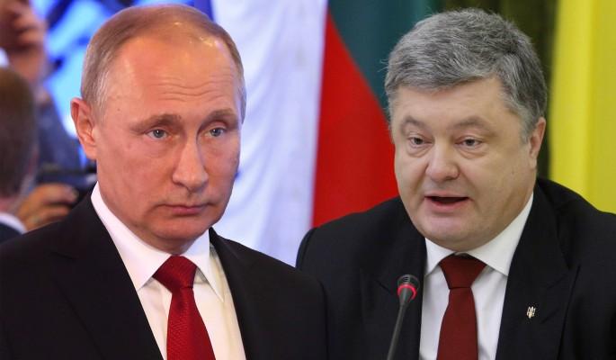 Путин вывел на чистую воду хрюкающего Порошенко