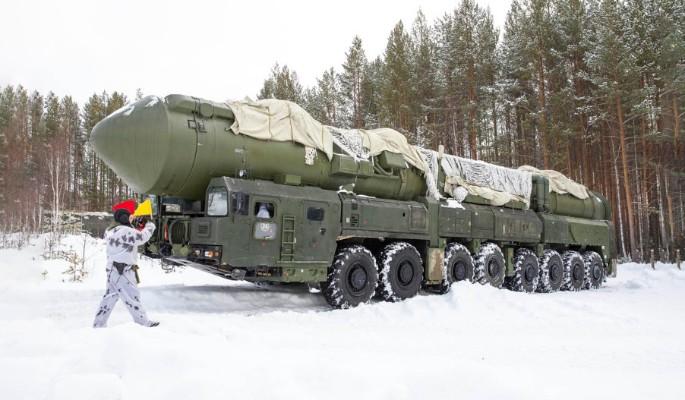 По Москве проехали ракеты (видео)