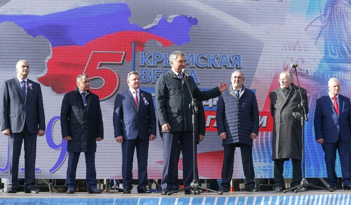 Володин: Крым – символ национального единения